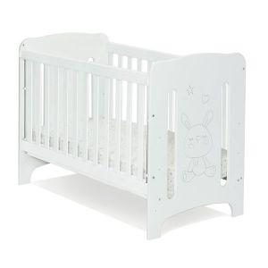 Детска кошара Abra 60х120 - MDF NUBA - бяло