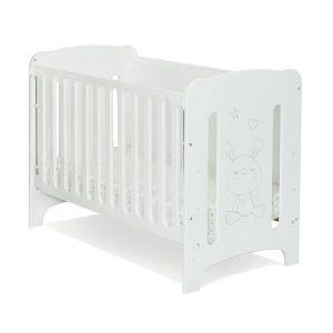 Детска кошара Amo 60х120 - MDF NUBA - бяло