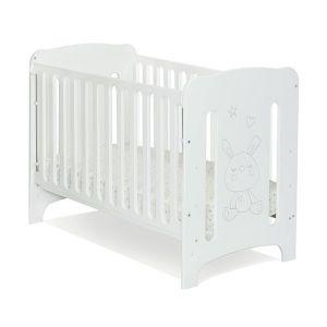 Детска кошара Carmela 60х120 - MDF NUBA - бяло
