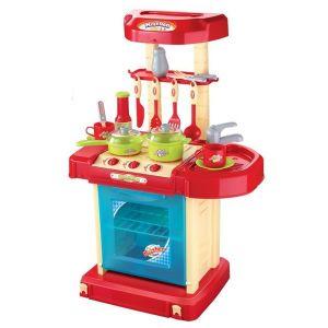 Детска кухня My Kitchen BUBA - червена