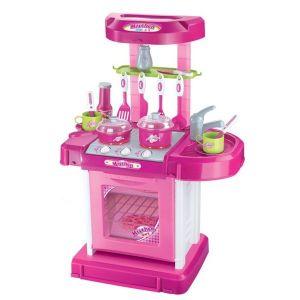 Детска кухня My Kitchen BUBA - розова