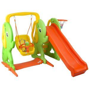 Детска пързалка с люлка Слонче PILSAN