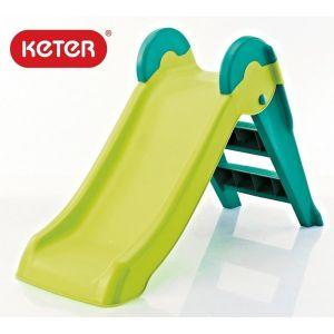 Детска пързалка Boogie Slide KETER - зелена/синя