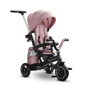 Триколка с въртяща се седалка Easytwist KINDERKRAFT - розова