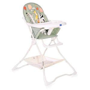 Столче за хранене BONBON LORELLI - Green BIRTHDAY