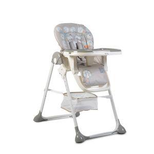 Детски стол за хранене Hunny MONI - сив