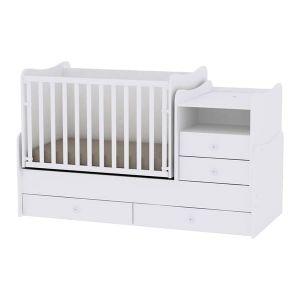 Детско легло Combo Lorelli - бяло