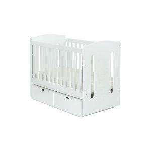 Детско легло Felicio 60х120 - MDF NUBA - бяло
