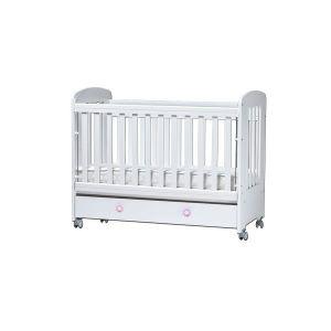 Детско легло Клео Dizain Baby - бяло