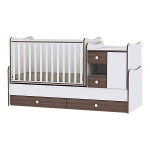 Детско легло MiniMax Lorelli - орех