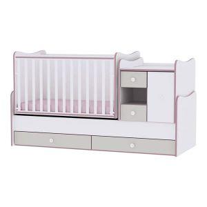 Детско легло MiniMax Lorelli - розово