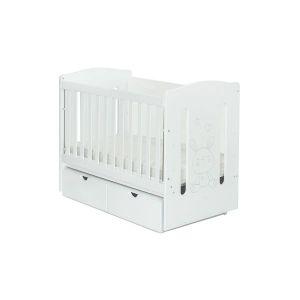 Детско легло Redo 60х120 - MDF NUBA - бяло