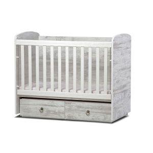 Детско легло Тони 60х120 Dizain Baby - антик / подвижна решетка