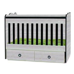 Детско легло Тони 60х120 Dizain Baby - астра + венге
