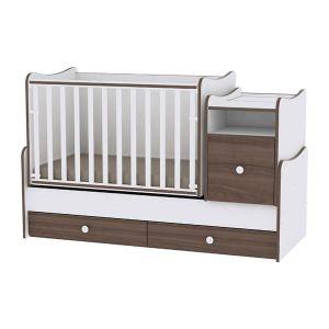 Детско легло Trend Plus Lorelli - орех