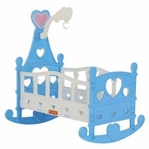 Легло за кукли Heart POLESIE TOYS - син
