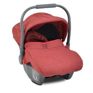 Детско столче - кошница за кола Sofie MONI - червено