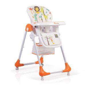 Детски стол за хранене Avocado MONI - оранжев