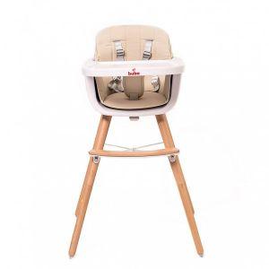 Столче за хранене Carino Buba - бежово