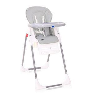 Детско столче за хранене CRYSPI LORELLI - Grey LEATHER