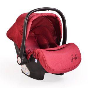 Детско столче за кола 0 -13 кг. Gala Moni - червено