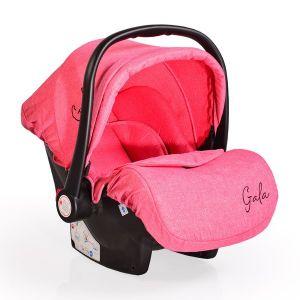 Детско столче за кола 0 -13 кг. Gala Moni - корал