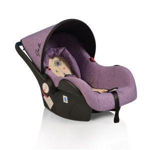 Детско столче за кола 0 -13 кг. Gala Moni - лилаво