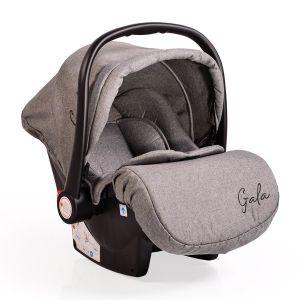 Детско столче за кола 0 -13 кг. Gala Moni - сиво