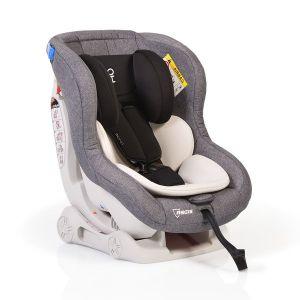 Детско столче за кола 0-18 кг. Aegis MONI - сив