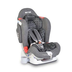 Детско столче за кола 0-25 кг. Better NANO - сив лен