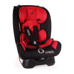 Столче за кола 9-36 кг. Hybrid MONI - червен