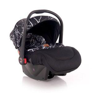 Столче за кола 0-13 кг. PLUTO LORELLI - Black MARBLE