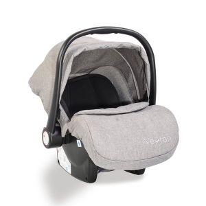 Детско столче - кошница за кола Veyron MONI - светло сив