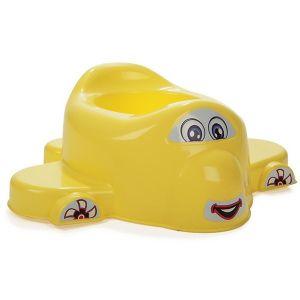 Детско гърне Самолет Pilsan - жълто