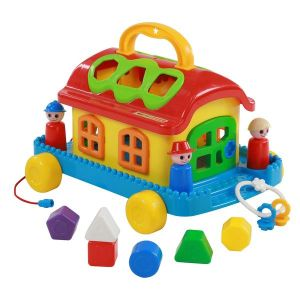 Къща сортер Fairy House (колелца) POLESIE TOYS