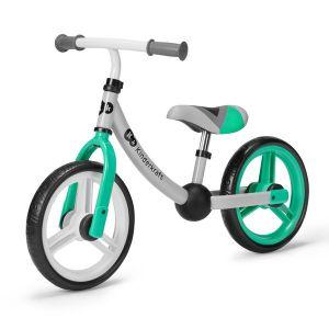 Колело за баланс 2WAY NEXT KINDERKRAFT - светло зелено