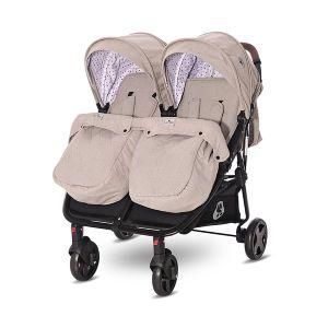 Детска количка за близнаци DUO LORELLI - STRING