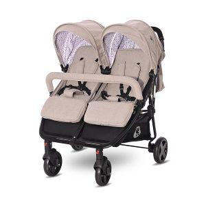 Детска количка за близнаци DUO LORELLI - String DOTS
