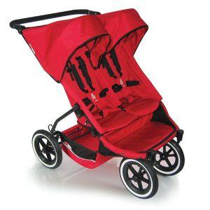 Детска количка за близнаци E3 PHIL&TEDS