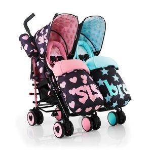 Бебешка количка за близнаци SUPA DUPA Sis & Bro 5 COSATTO
