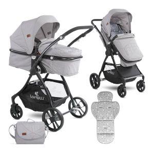 Детска комбинирана количка STARLIGHT LORELLI - Grey