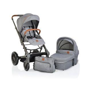 Комбинирана детска количка Icon 2в1 Cangaroo - сив