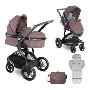 Детска комбинирана количка LUMINA LORELLI - Beige