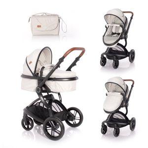 Детска комбинирана количка LUMINA LORELLI - Grey