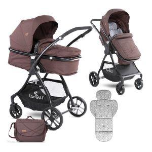 Детска комбинирана количка STARLIGHT LORELLI - Beige