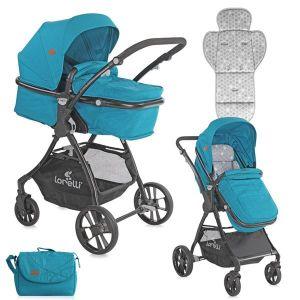 Детска комбинирана количка STARLIGHT LORELLI - Dark Blue