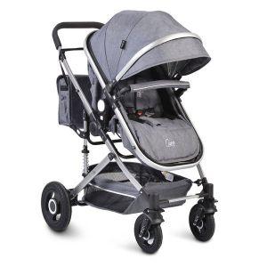 Комбинирана детска количка Ciara Moni - сива