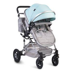 Комбинирана детска количка Ciara Moni - тюркоаз