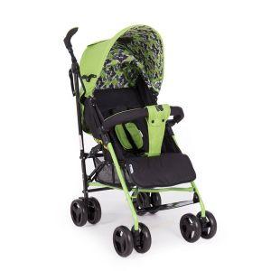 Лятна детска количка Guarana KikkaBoo - Leaves Green