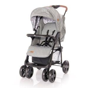 Детска лятна количка INES LORELLI - Dark Grey LIGHTHOUSE